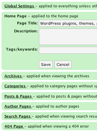 تصویر wordpress Plugin HeadSpace2 SEO